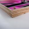 Multiplexplatte mit Lithographie